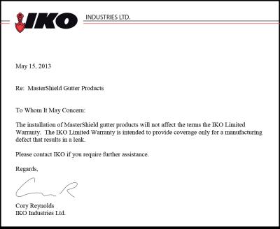gutter-filter-specialists-cedar-rapids-iowa-iowa-city-IKO-Letter